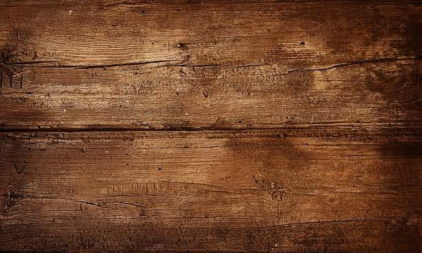 Old Wooden Background Scream Wooden Background Print
