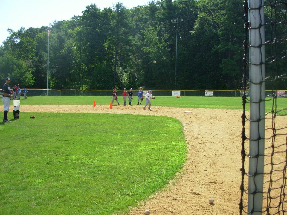 The Grounball Station At An Outdoor Camp In West Milford Nj In July 2012 Baseball Camp Outdoor Camping West Milford