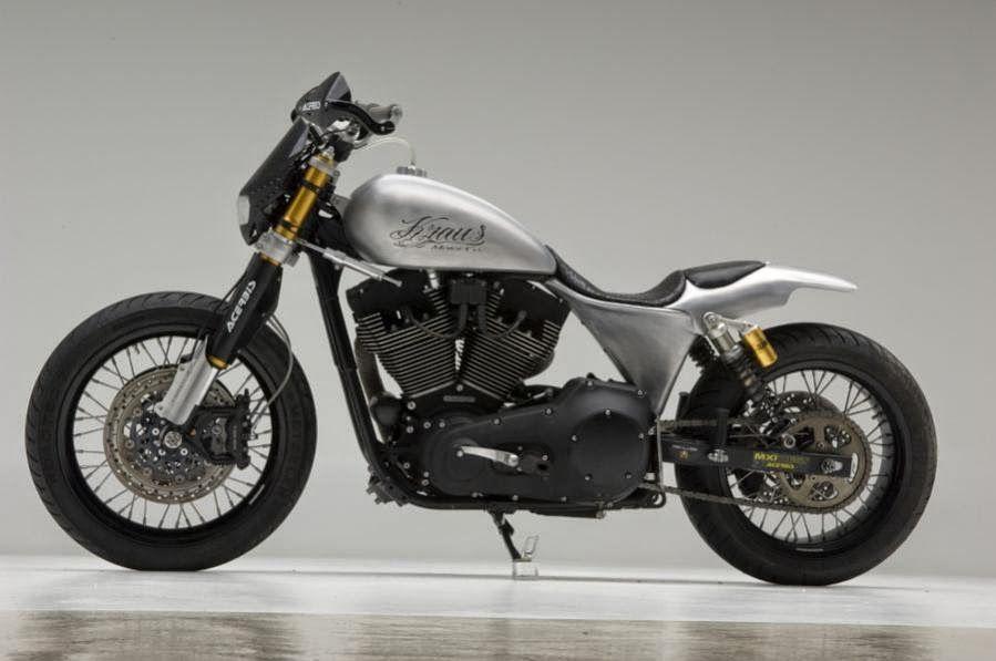 Delightful Dirt Bike Harley Davidson #6: Custom Harley-Davidson Dyna By Kraus This Custom Harley-Davidson Dirt Bike  Basedu2026