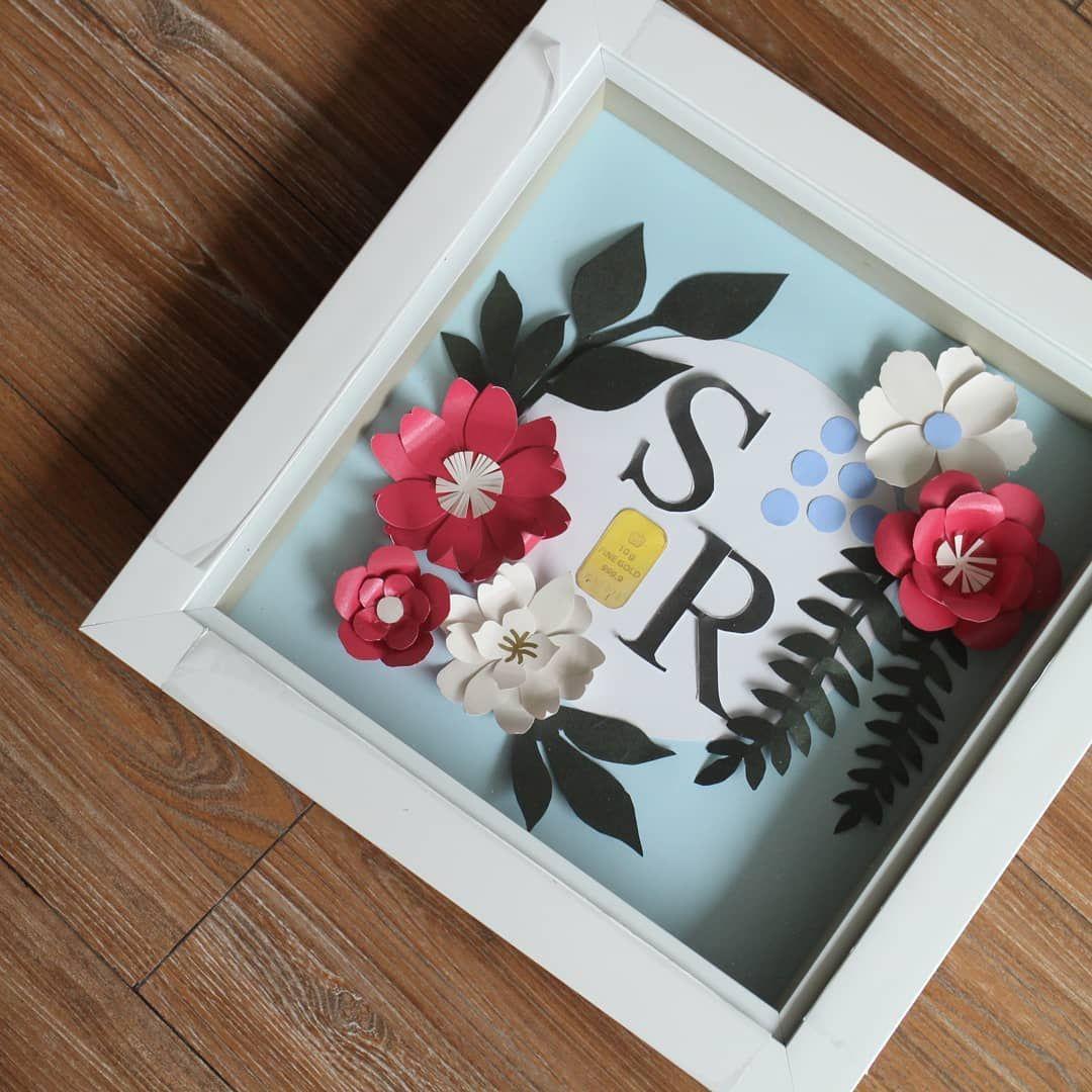 Penyewaan Tray Hias Hantaran Di Instagram Mahar Paper Flower
