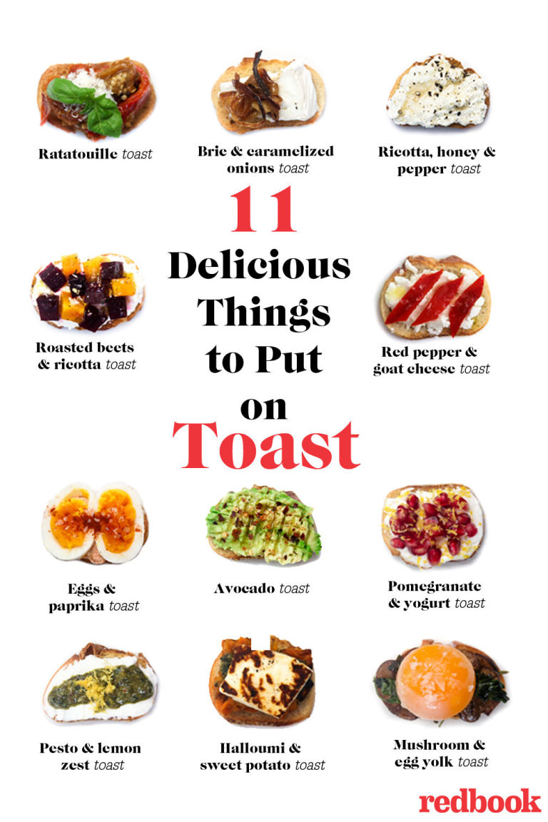 11 Delicious Things You Should be Putting on Toast