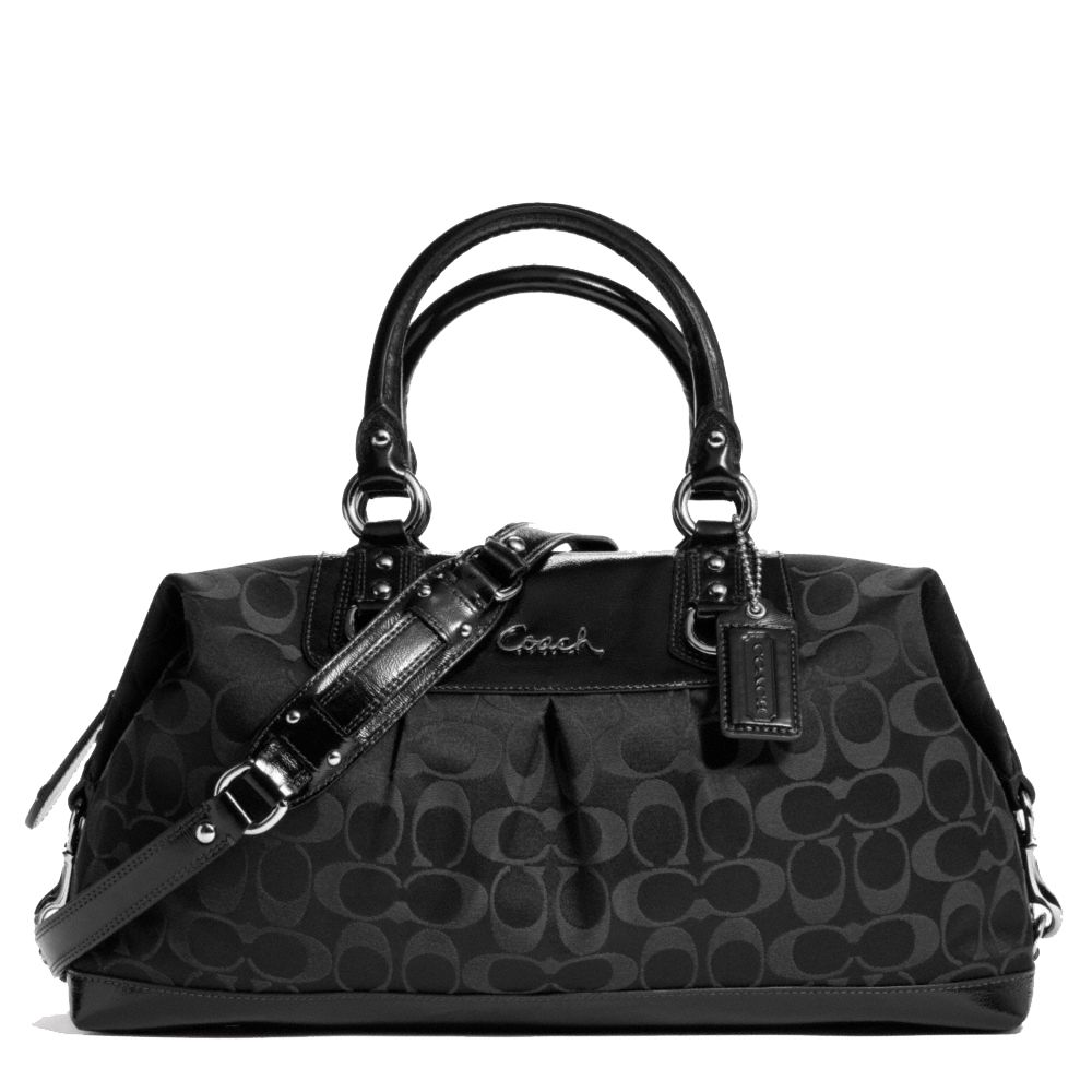 Black Coach Handbag (anything but leather) | Purses | Pinterest ...