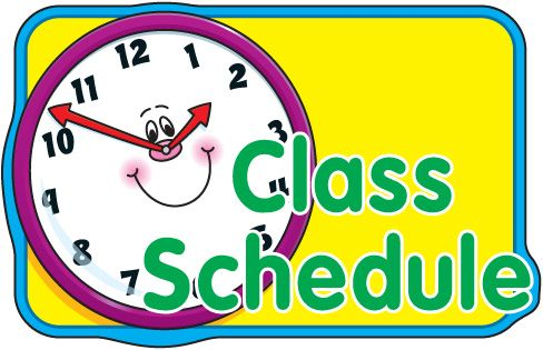 Image result for school clipart schedule