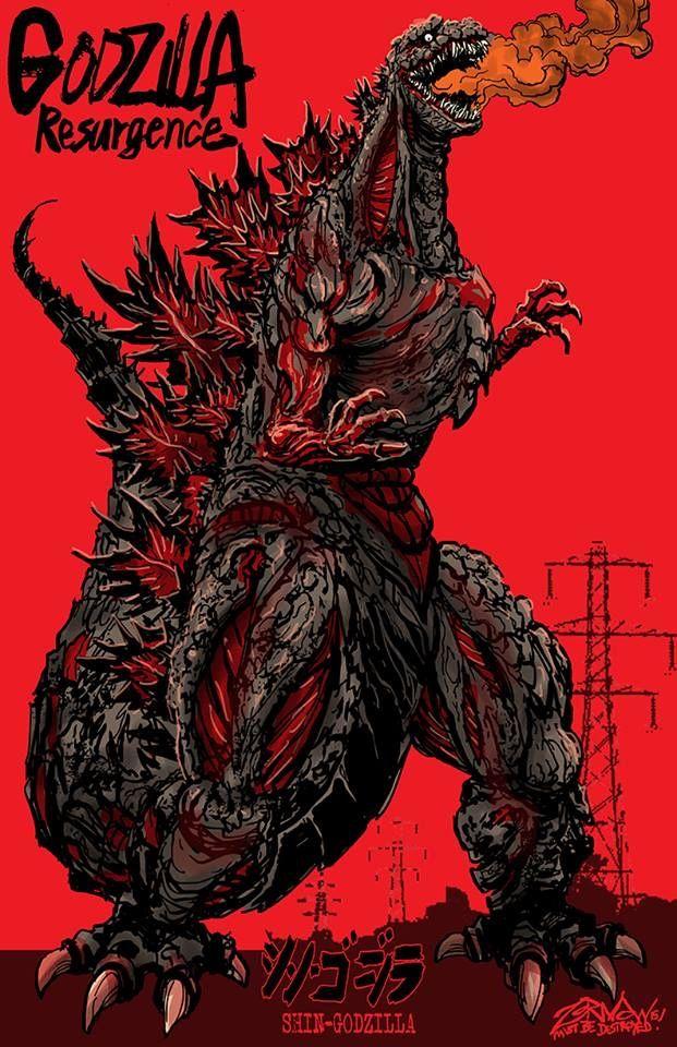 Godzilla: Resurgence by Jeff Zornow | Godzilla in 2019 | Godzilla