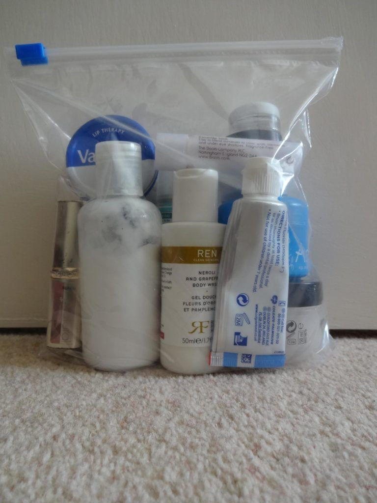 Travelling Tips Including Everything You Need To Know About That 20 X Cm Resealable Bag Required Carry Liquids Onto Flights Electrical Devices In