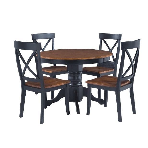 Target Dining Room Furniture: 5 Pc Round Pedestal Dining Table