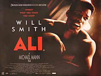 Posteritati Ali 2001 British 30x40 Michael Mann Mann Movie Movie Posters