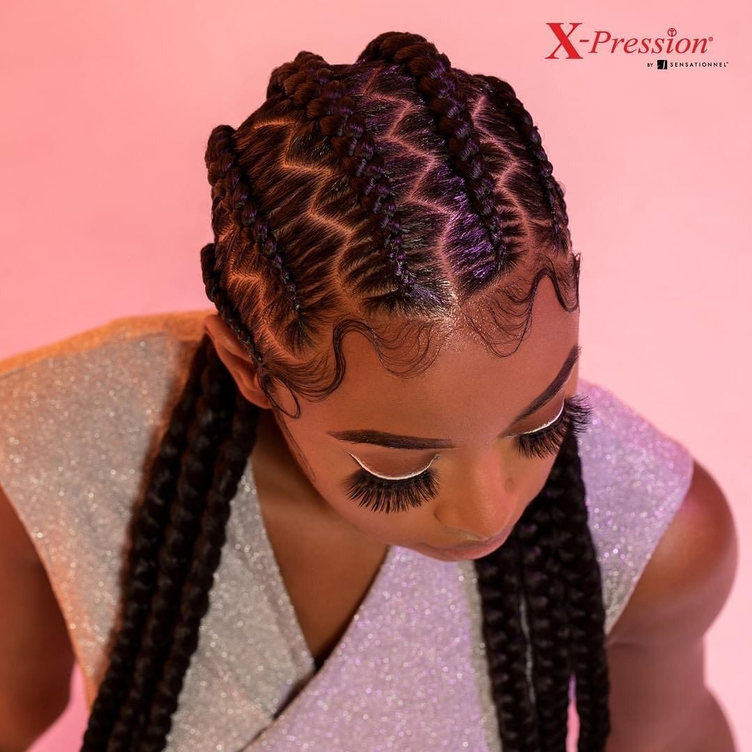 Crazy Hairstyles For African Americans In 2020 Braided