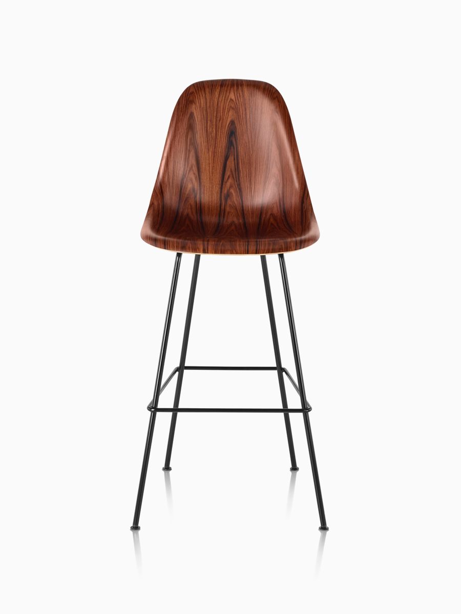 Tremendous Eames Molded Wood Stool The Eames Molded Wood Stool By Machost Co Dining Chair Design Ideas Machostcouk