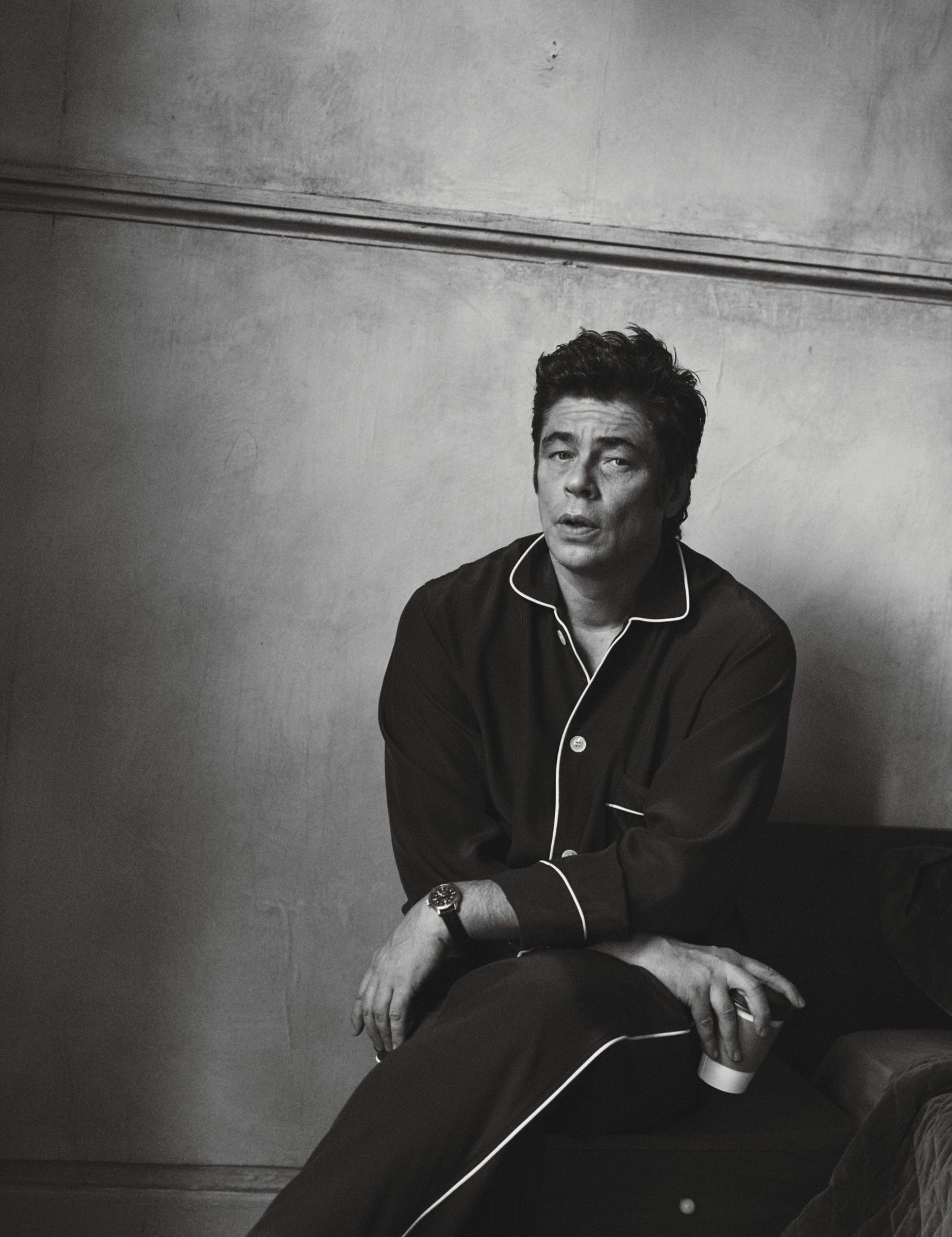 "Benicio Del Toro in ""Best Performances"" by Peter Lindbergh for W Magazine February 2016"