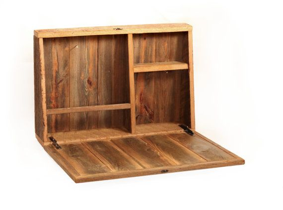 Drop Down Secretary Desk Wall Mounted Desk For Small Spaces