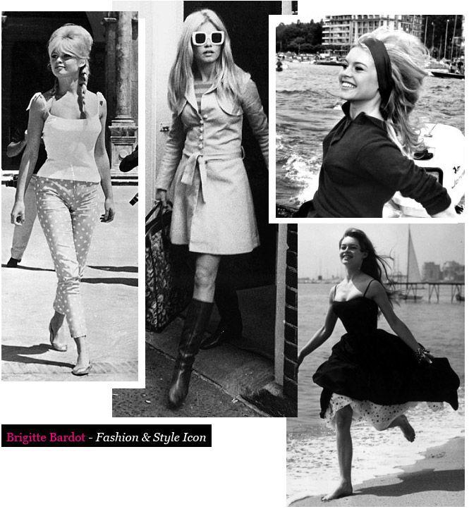Brigitte Bardot Fashion Icon