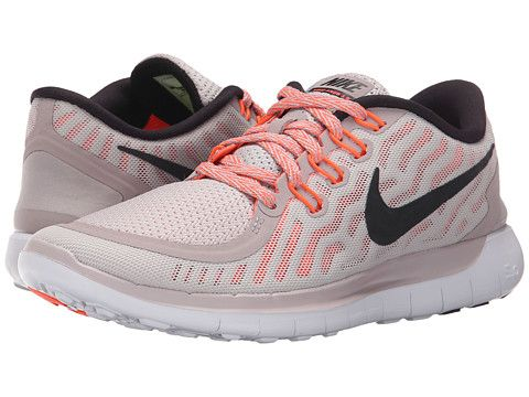 fe2a8335a89f Nike Free 5.0 Violet Ash Hyper Orange Black - 6pm.com Lightweight Running