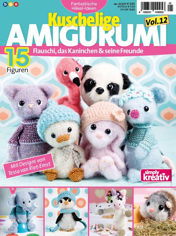 Fantastische Häkelideen Amigurumi Vol. 12