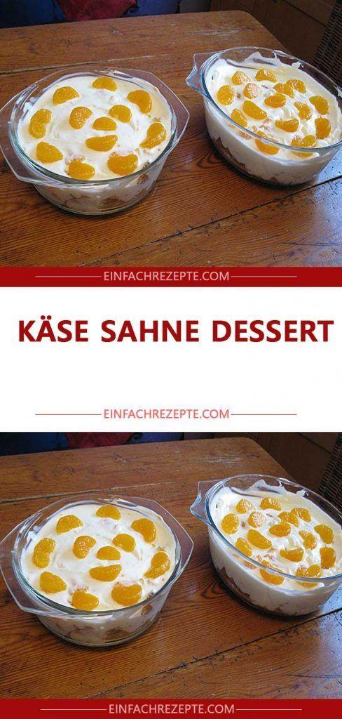 Käse Sahne Dessert 😍 😍 😍
