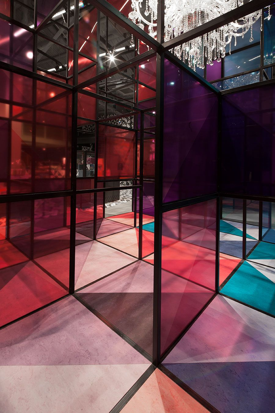 Magic Cube Kids Museum Of Glass Coordination Asia