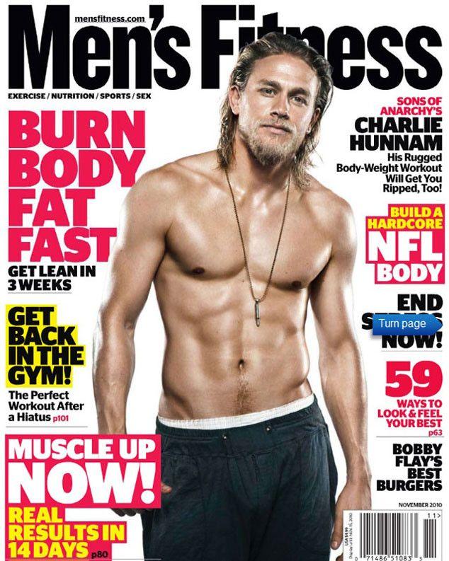 Men's Fitness Charlie Hunnam | Charlie Hunnam, Men's fitness Cover