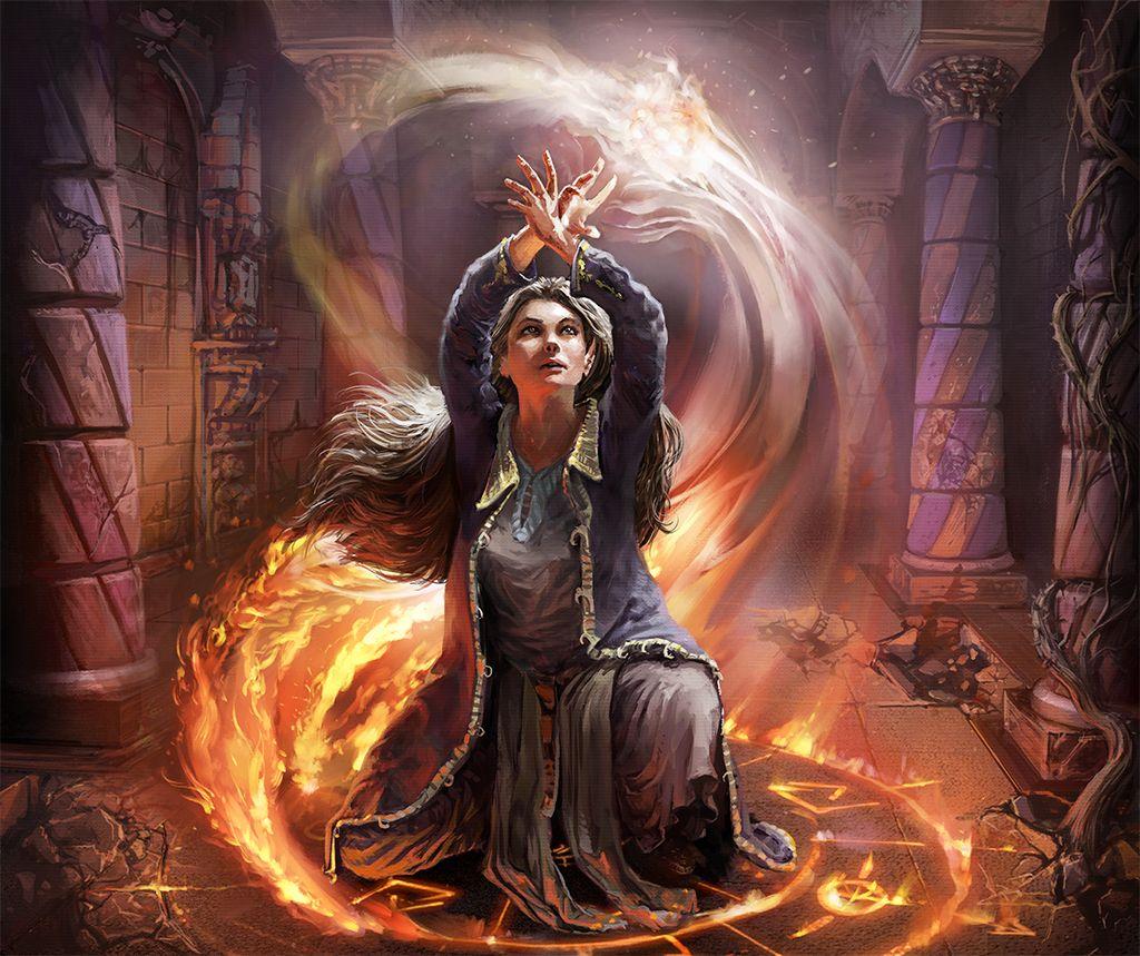 Elf Mage De Odysseusart Fantasy Wizard Mage Female Wizard