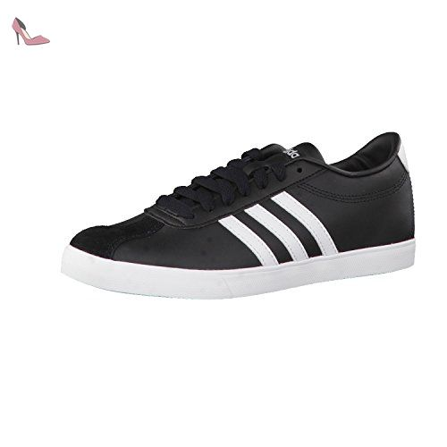 new arrival ddc13 b0351 Adidas courtset w womens trainers black 37 eu shoes trainers,adidas Adidas  Courtset W - 84cd345 Noir - EU 38,23 - Chaussures adidas ( b1f74d09 ...