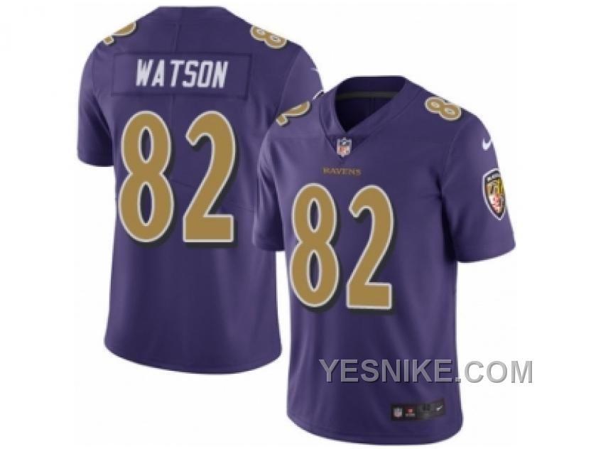 mens nike baltimore ravens 82 benjamin watson elite purple rush nfl jersey price 26.00 nike shoes ai