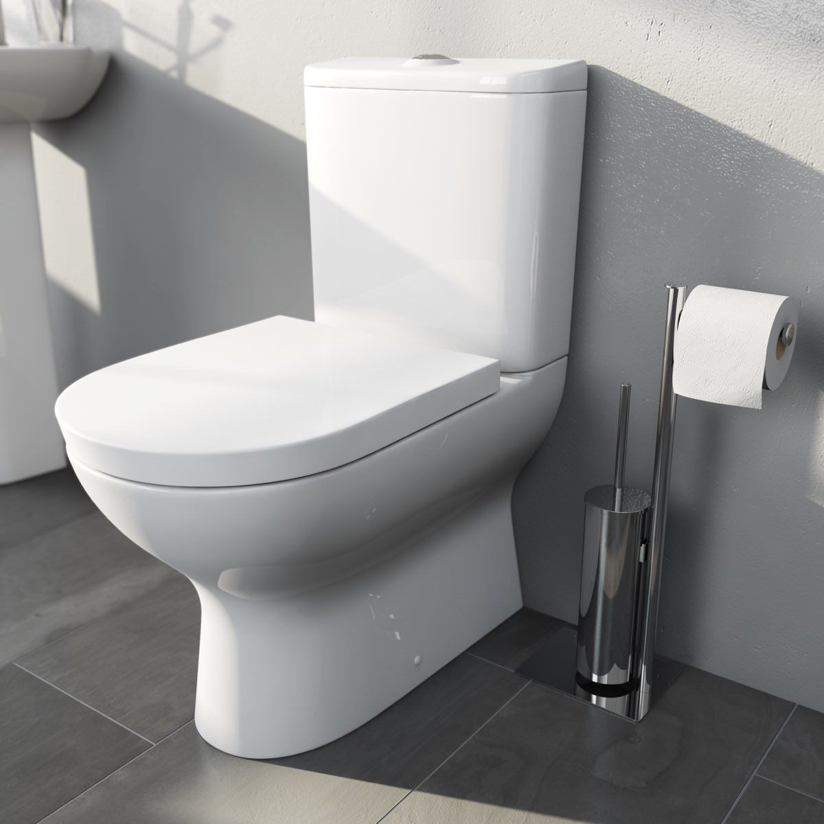 mode heath close coupled toilet with soft close toilet. Black Bedroom Furniture Sets. Home Design Ideas