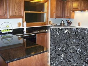 Silver Pearl Dark Granite Or Black