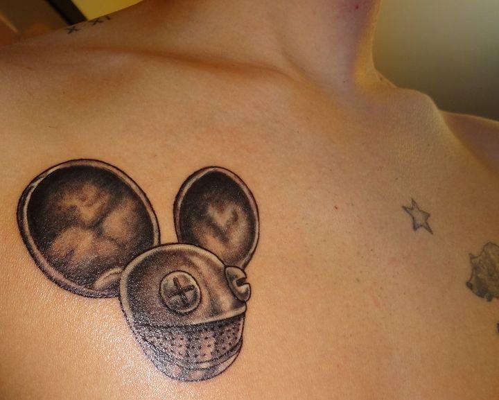 Deadmau5 Tattoo Tattoo Designs Tattoos Paw Print Tattoo