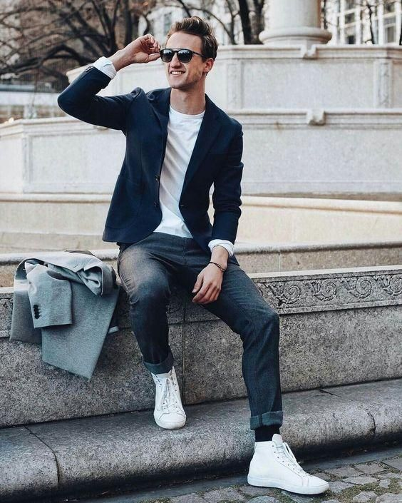 febebac93031 11 Cool Jeans   Blazer Outfit Ideas For Men