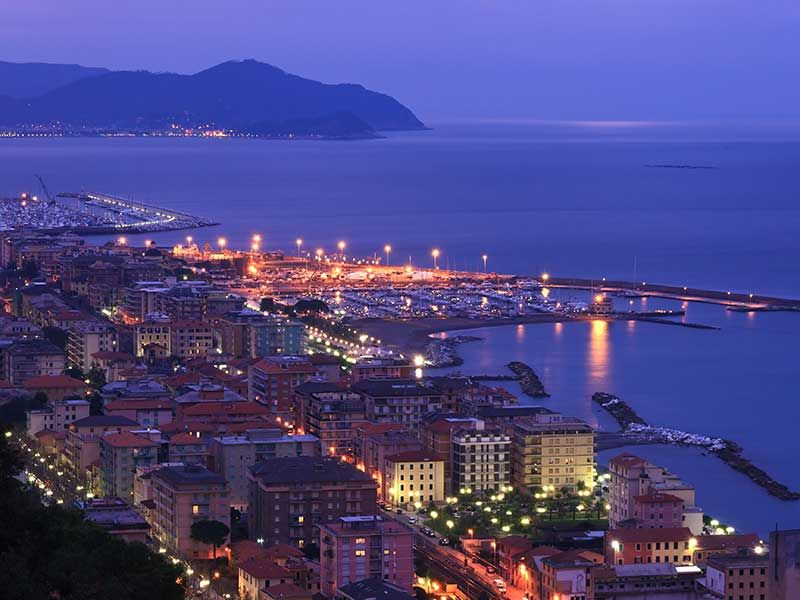 Chiavari - Golfo del Tigullio - Genoa - Liguria - Italy ...