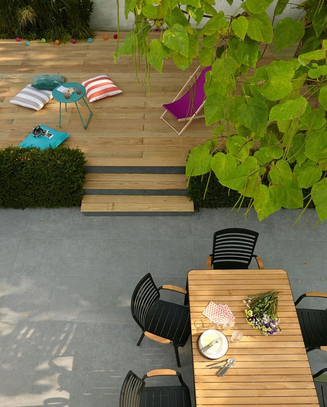 Terrasse Bois Et Bois Composite Outdoor Furniture Sets