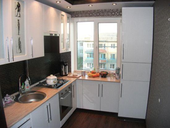 дизайн кухни 6 кв м кухни Pinterest Mini kitchen