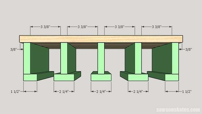 Photo of DIY Cordless Drill Storage Rack (Free Plans + Video) | Saws on Skates®