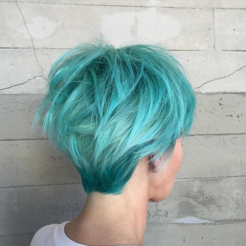 20 Hair Styles Starring Turquoise Hair Aqua Hair Color Turquoise Hair Color Turquoise Hair