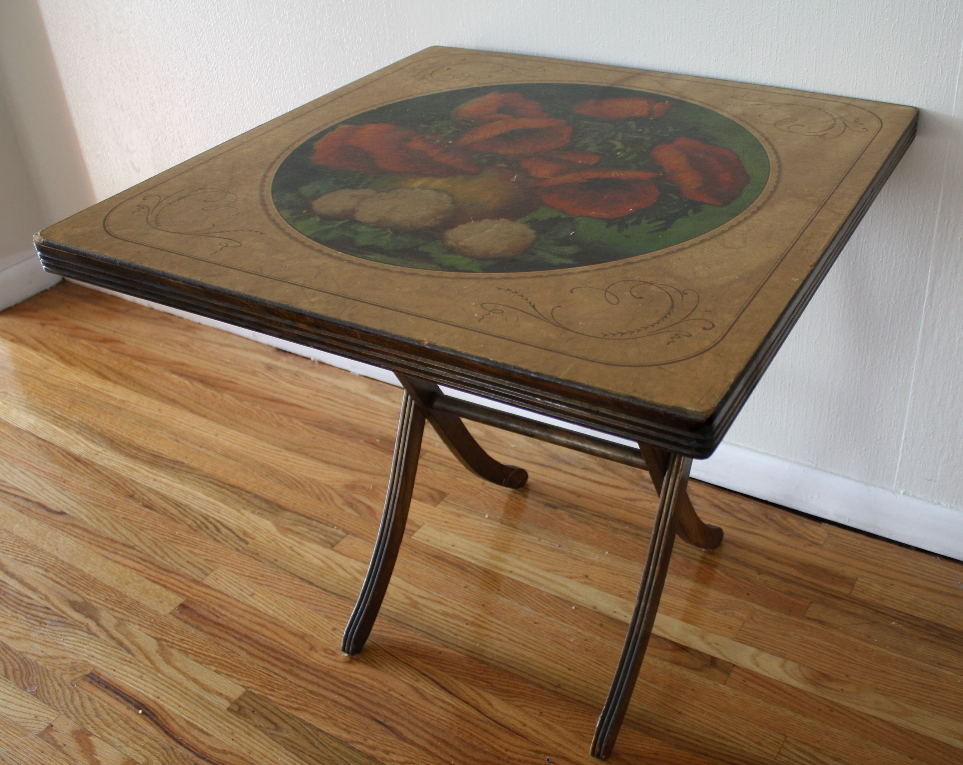 Antique Folding Card Tables
