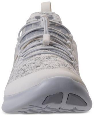 Nike Men's Free Rn Commuter Premium 2017 Running Sneakers from Finish Line  - White 11.5