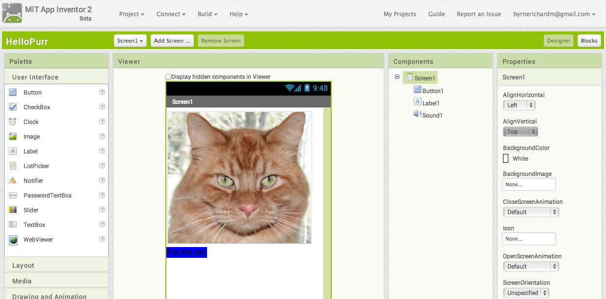 MIT App Inventor 2 Design Android Apps in Your Browser