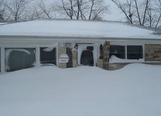 Blizzard 2011 photos, Morton Grove, Illinois #mortongrove