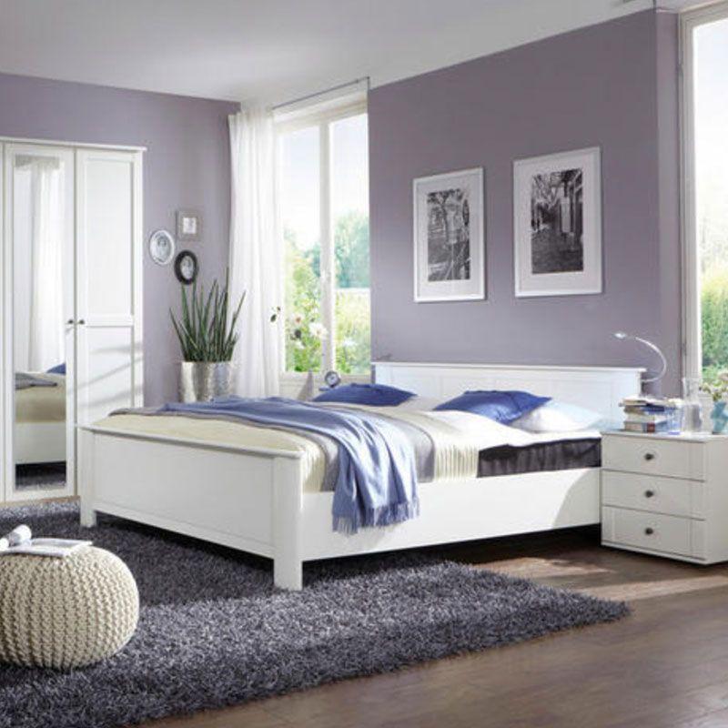 Bett 180 200 Cm In Weiss Komplettes Schlafzimmer Designer Bett