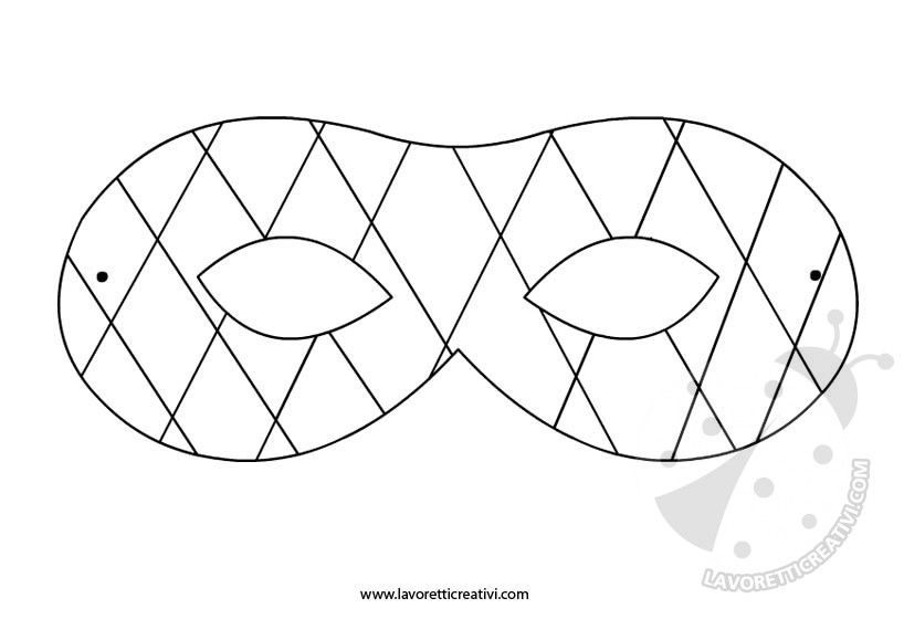disegni da colorare di arlecchino da stampare