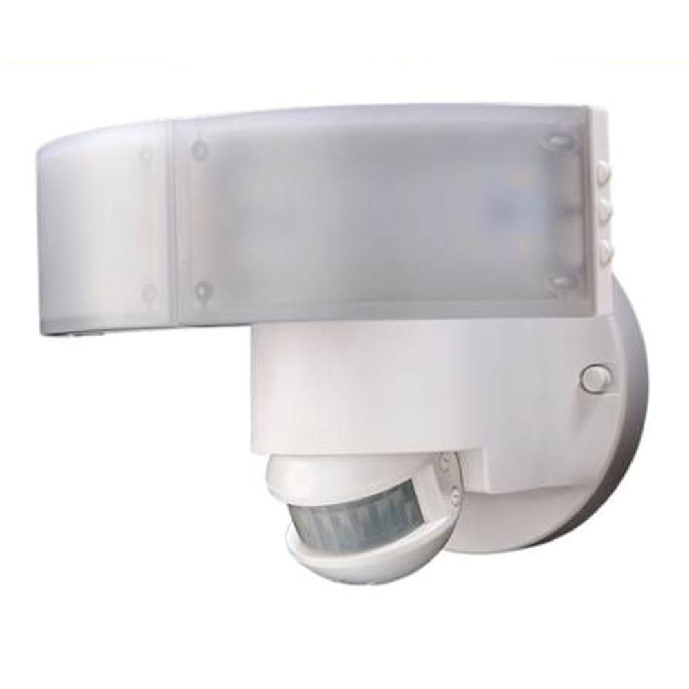 Defiant 180 Degree White LED Motion Outdoor Security Light | Outdoor ...
