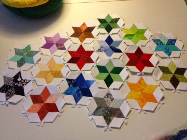 Stjernestøv i patchwork