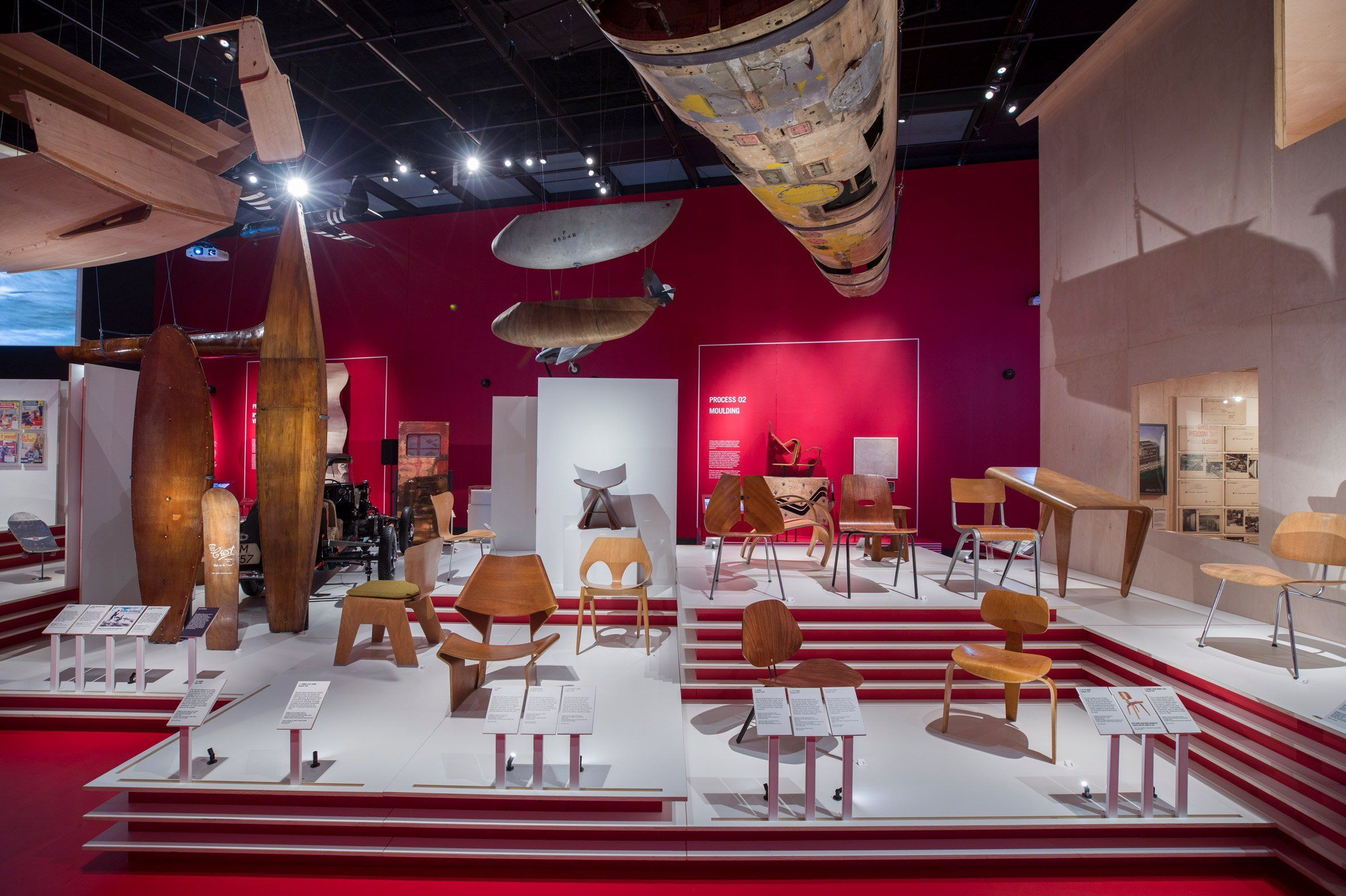 Plywood Exhibition At The V A Museum London Uk Exhibition Design Timeless Furniture Furniture Design