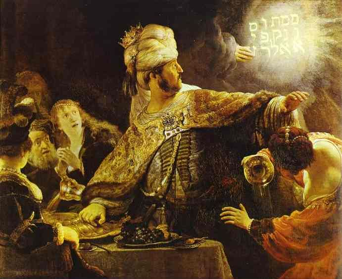 """The Feast of Belshazzar"", Oil by Rembrandt Van Rijn (1606-1669, Netherlands) ▓█▓▒░▒▓█▓▒░▒▓█▓▒░▒▓█▓ Gᴀʙʏ﹣Fᴇ́ᴇʀɪᴇ ﹕☞ http://www.alittlemarket.com/boutique/gaby_feerie-132444.html ══════════════════════ ♥ #bijouxcreatrice ☞ https://fr.pinterest.com/JeanfbJf/P00-les-bijoux-en-tableau/ ▓█▓▒░▒▓█▓▒░▒▓█▓▒░▒▓█▓"