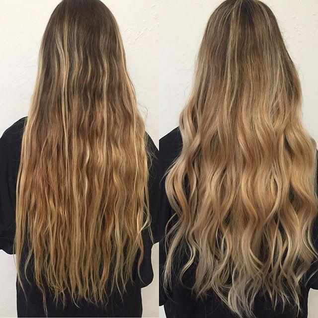 Blonde Hair : Long Hair : balayage :