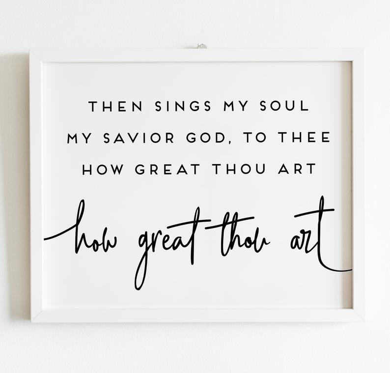 Pin By Jennifer Martel On Alyssa Room In 2021 Christian Decor Wall Decor Printables Hymns Lyrics