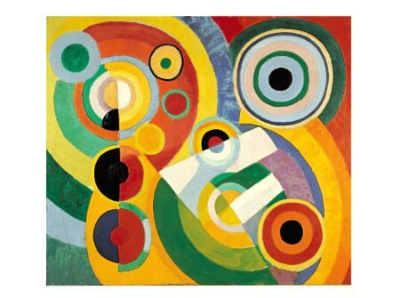 Robert Delaunay, Joie DeVivre. Integrate the art and maths strands by exploring colour, circles, fractions, and composition.