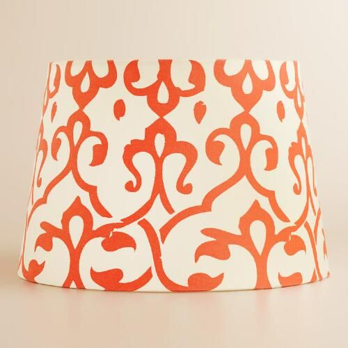 One of my favorite discoveries at WorldMarket.com: Omar Print Accent Lamp Shade