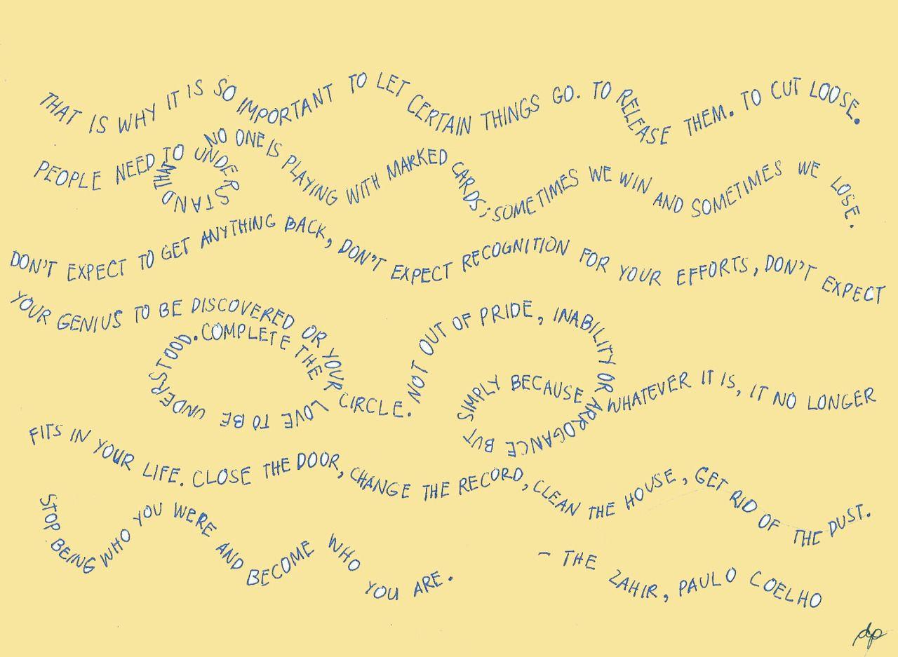 paulo coelho quote | Tumblr
