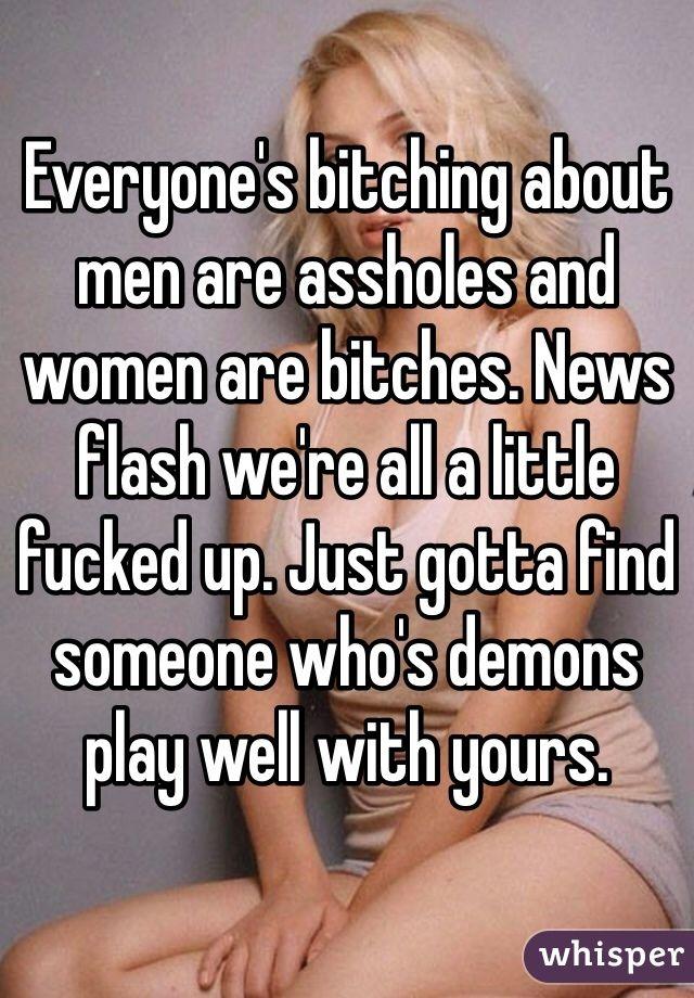 Women Assholes