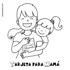 Abrazo En Familia Para Colorear Buscar Con Google ว นแม ครอบคร ว